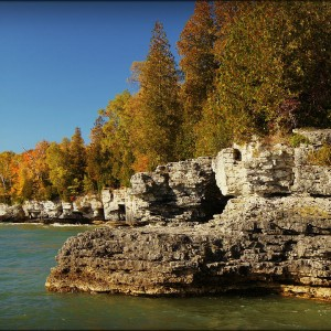 cave point county park top five favorite hiking areas Door County