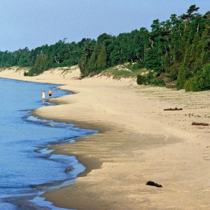 whitefish dunes state park top five favorite hiking areas Door County
